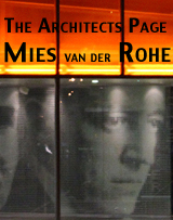 Architect's Page: Mies van der Rohe