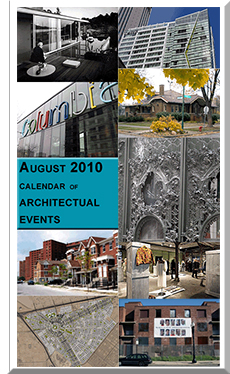 Chicago architectural events for August, 2010