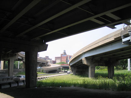 Spaghetti Bowl, Circle Interchange, Chicago
